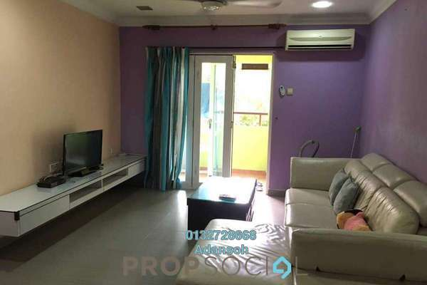 For Rent Condominium at Paradesa Tropika, Bandar Sri Damansara Freehold Fully Furnished 3R/2B 1.6k
