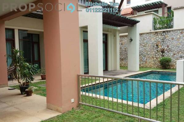 For Rent Bungalow at Kiara Hills, Mont Kiara Freehold Semi Furnished 5R/6B 25k