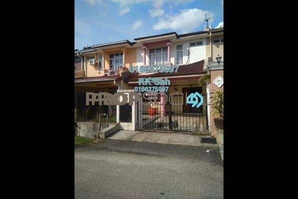 For Sale Terrace at Section 1, Bandar Mahkota Cheras Freehold Semi Furnished 4R/3B 478k