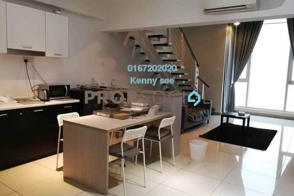 For Sale SoHo/Studio at The Scott Garden, Old Klang Road Freehold Fully Furnished 1R/2B 408k