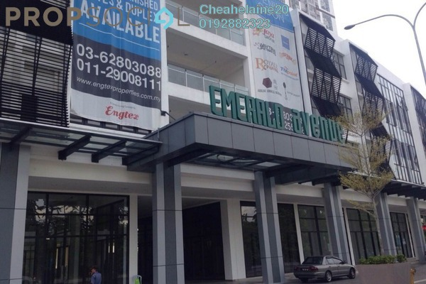 For Rent Shop at Emerald Avenue, Selayang Freehold Semi Furnished 1R/1B 3.3k