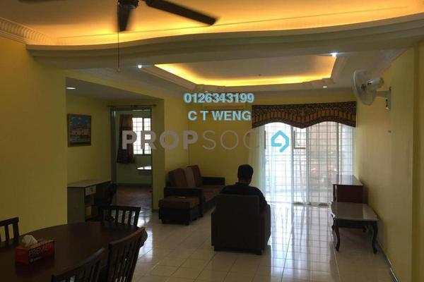 For Rent Condominium at City Garden Palm Villa, Pandan Indah Freehold Fully Furnished 3R/2B 1.6k