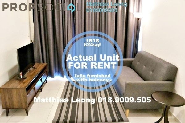 For Rent Serviced Residence at The Robertson, Pudu Freehold Fully Furnished 1R/1B 3k