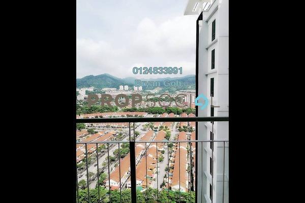For Rent Condominium at Promenade Residence, Bayan Baru Freehold Unfurnished 3R/2B 1.3k