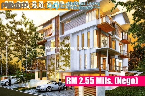 For Sale Semi-Detached at Kingsley Hills, Putra Heights Freehold Unfurnished 6R/6B 2.55m
