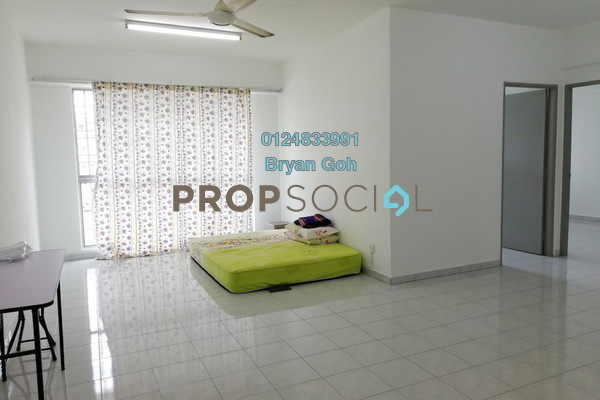 For Sale Apartment at Taman Kang Har Tong, Green Lane Freehold Semi Furnished 3R/2B 375k