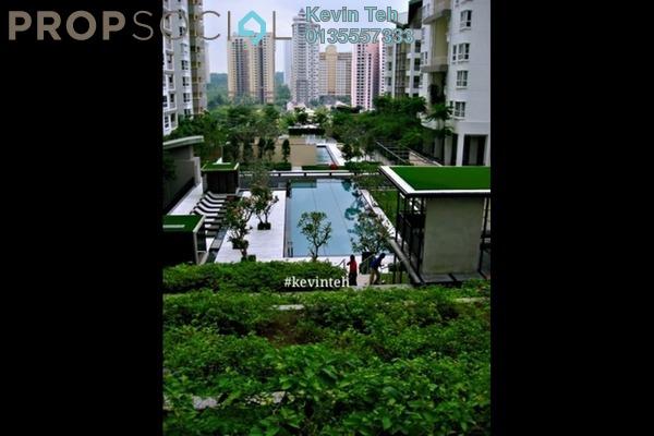 For Rent Condominium at Hijauan Kiara, Mont Kiara Freehold Fully Furnished 3R/4B 6.5k