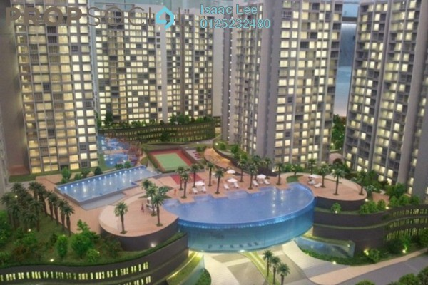 For Rent Condominium at Tropicana Bay Residences, Bayan Indah Freehold Fully Furnished 2R/1B 1.8k