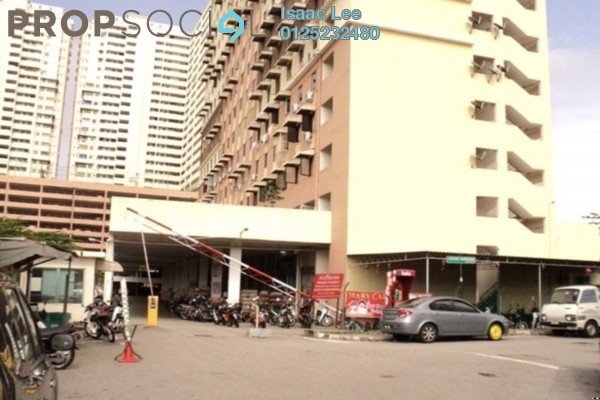 For Rent Condominium at Jelutong Palace, Jelutong Freehold Semi Furnished 3R/2B 1.4k