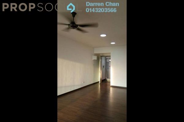 For Rent Condominium at Silk Sky, Balakong Freehold Semi Furnished 3R/2B 1.1k