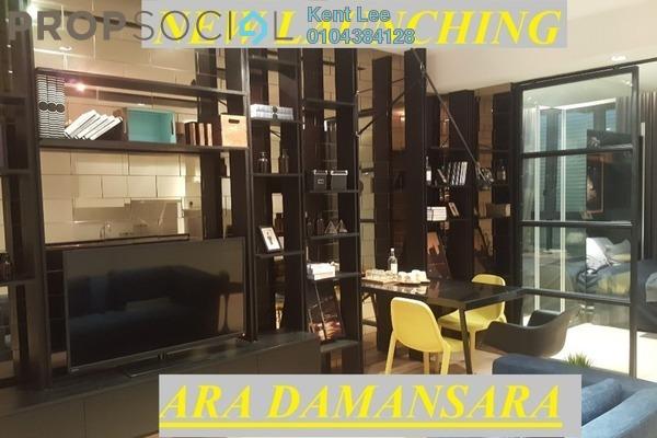 For Sale SoHo/Studio at H2O Residences, Ara Damansara Freehold Semi Furnished 1R/1B 430k