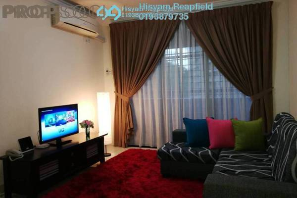 For Rent Condominium at Putra Villa, Gombak Freehold Fully Furnished 3R/2B 2.1k