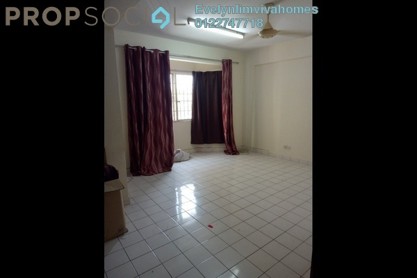 For Rent Apartment at Desa Dua, Kepong Freehold Unfurnished 3R/2B 900translationmissing:en.pricing.unit