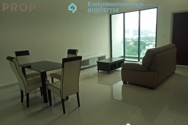 For Rent Condominium at Res 280, Selayang Freehold Fully Furnished 2R/2B 1.8k