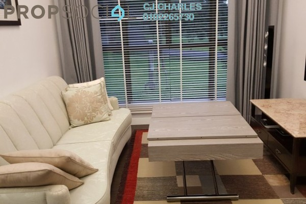 For Sale Condominium at Gateway Kiaramas, Mont Kiara Freehold Semi Furnished 1R/1B 500k