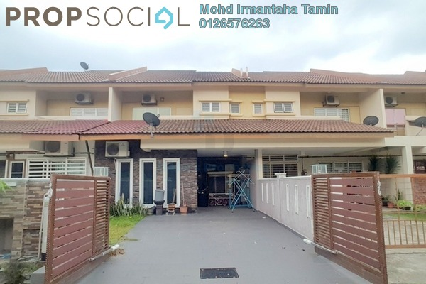 For Sale Terrace at Tate, Puncak Alam Leasehold Semi Furnished 4R/3B 480k