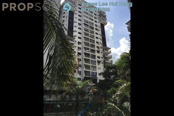 For Rent Condominium at Taman Kosas, Ampang Freehold Semi Furnished 3R/2B 1.2k