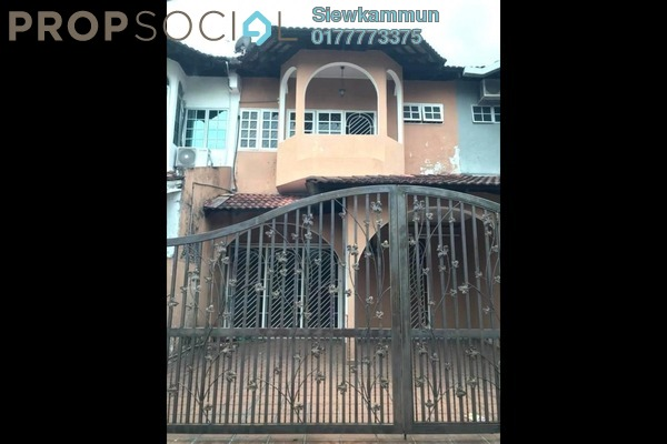For Rent Terrace at Taman Putra Indah, Ipoh Freehold Semi Furnished 4R/3B 1.4k