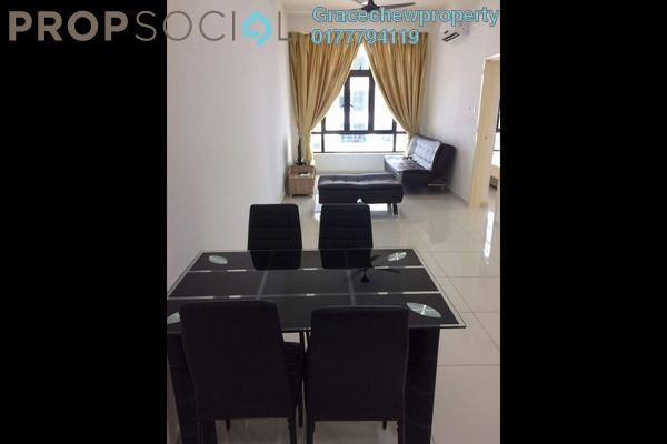 For Rent Serviced Residence at D'Summit Residences, Skudai Freehold Fully Furnished 2R/2B 1.3k