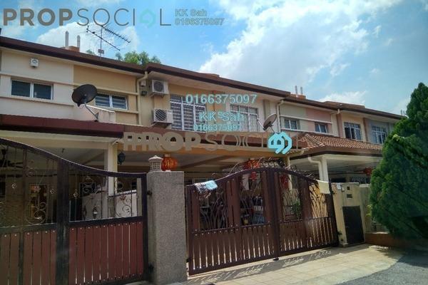 For Sale Link at Taman Pinggiran Mahkota, Bandar Mahkota Cheras Freehold Semi Furnished 4R/3B 528k