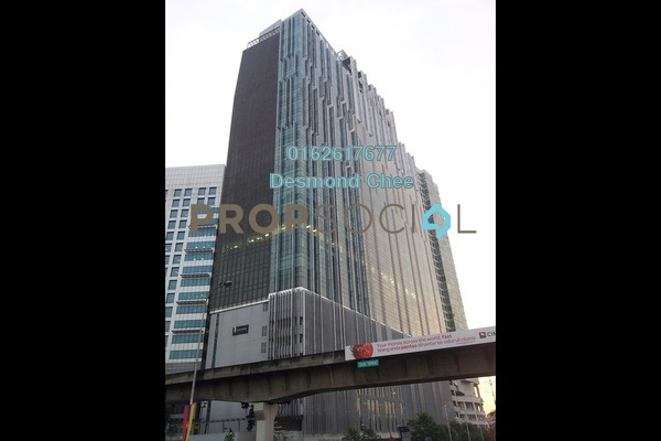 For Rent Office at 1 Sentral, KL Sentral Freehold Fully Furnished 0R/0B 2.95k