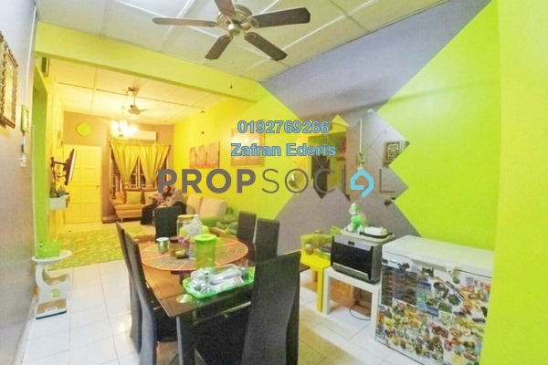 For Sale Terrace at Taman Desa Baiduri, Cheras South Leasehold Semi Furnished 3R/2B 360k