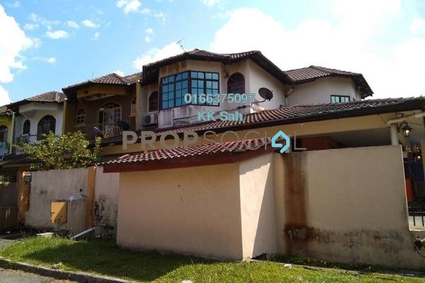 For Sale Terrace at SL7, Bandar Sungai Long Freehold Semi Furnished 4R/3B 738k
