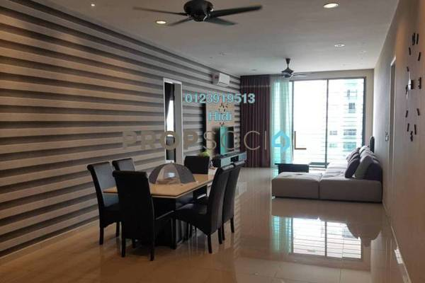 For Rent Condominium at X2 Residency, Puchong Freehold Fully Furnished 4R/5B 3k