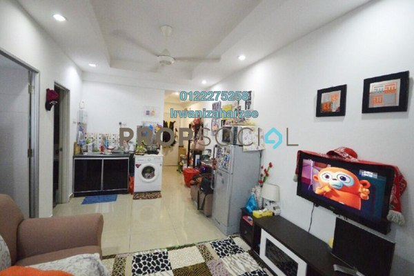 For Sale Condominium at Menara U2, Shah Alam Leasehold Fully Furnished 2R/1B 290k