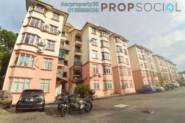 For Sale Apartment at Sri Wira Apartment, Ukay Freehold Unfurnished 3R/2B 250k
