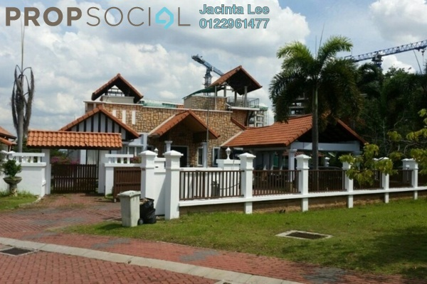 For Sale Bungalow at D'Puncak, Bukit Jelutong Freehold Semi Furnished 7R/7B 2.84m