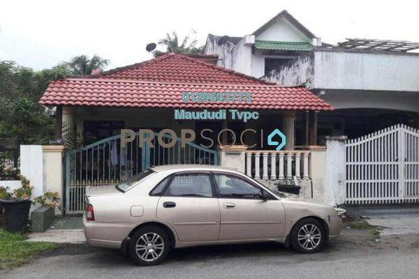 For Sale Terrace at Taman Ehsan, Kepong Freehold Semi Furnished 3R/2B 540k