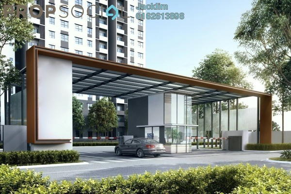 For Sale Condominium at Aman 1, Tropicana Aman Leasehold Unfurnished 3R/2B 350k