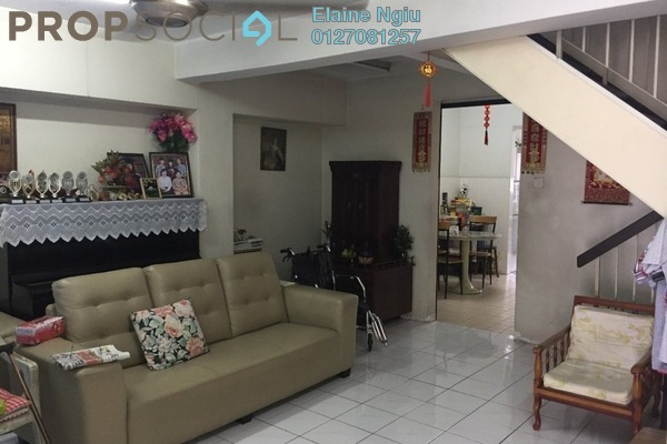 For Sale Terrace at Taman Sri Bahagia, Cheras South Freehold Semi Furnished 4R/3B 580k