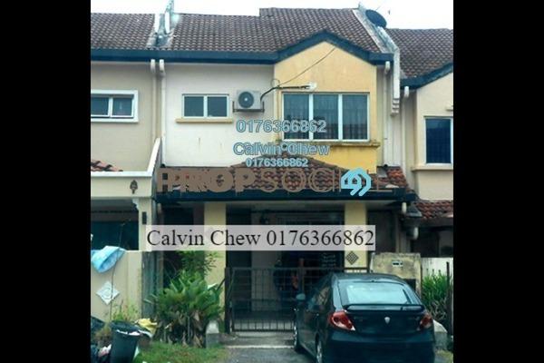 For Sale Terrace at Taman Puncak Jalil, Bandar Putra Permai Leasehold Unfurnished 4R/3B 363k