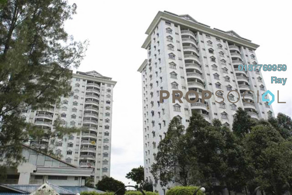 For Rent Condominium at Endah Villa, Sri Petaling Freehold Fully Furnished 3R/2B 1.8k