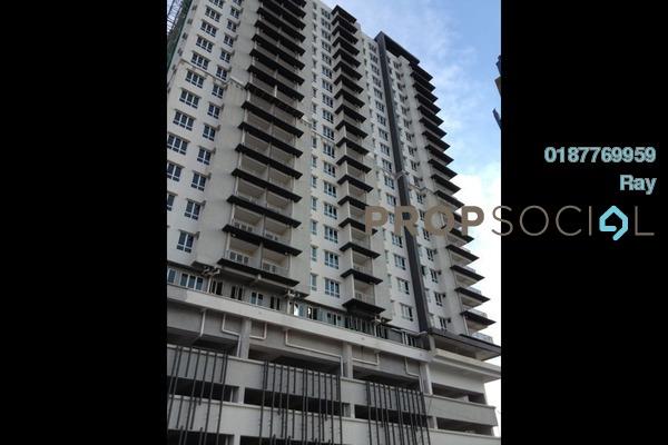 For Rent Condominium at Seri Puteri, Bandar Sri Permaisuri Freehold Semi Furnished 3R/3B 2.1k