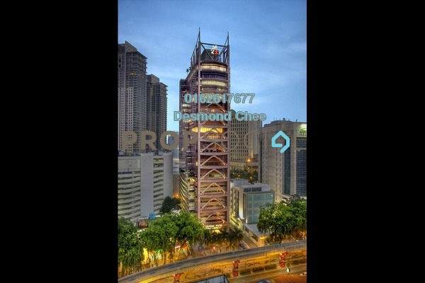 For Rent Office at Central Plaza, Bukit Bintang Freehold Fully Furnished 0R/0B 2.65k