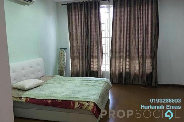 For Sale Terrace at Laman Seri, Shah Alam Freehold Semi Furnished 4R/3B 620k