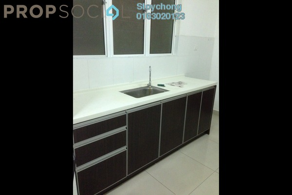 For Rent Condominium at Ritze Perdana 2, Damansara Perdana Freehold Semi Furnished 1R/1B 1.1k