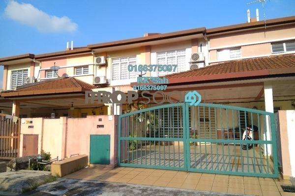 For Sale Terrace at Taman Pinggiran Mahkota, Bandar Mahkota Cheras Leasehold Semi Furnished 4R/3B 528k