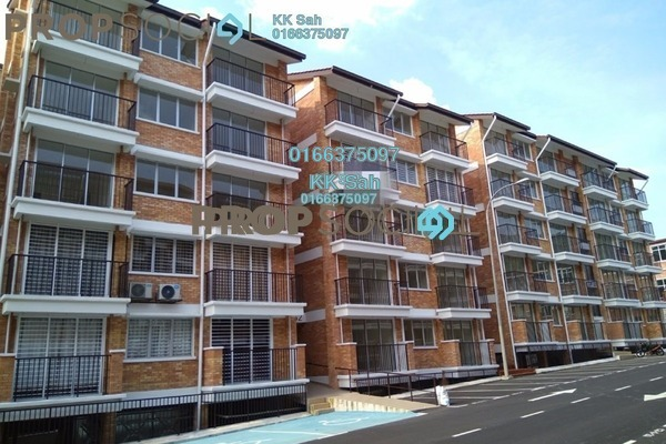 For Sale Apartment at Goodview Heights, Kajang Freehold Unfurnished 3R/2B 348k