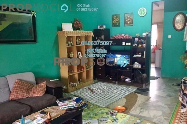 For Sale Link at Taman Klang Ria, Klang Freehold Semi Furnished 4R/3B 458k