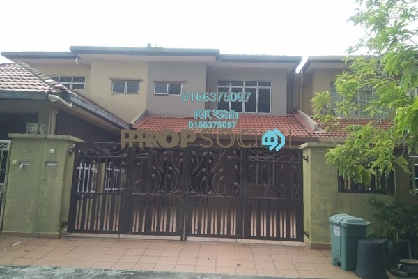 For Sale Terrace at Bandar Damai Perdana, Cheras South Freehold Semi Furnished 4R/3B 650k