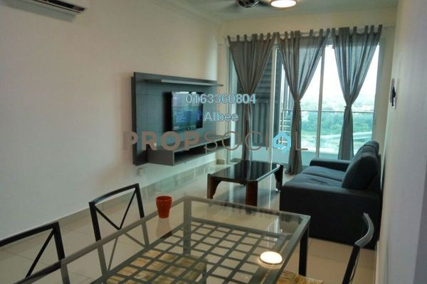 For Rent Condominium at Pacific Place, Ara Damansara Freehold Fully Furnished 3R/2B 2.5k