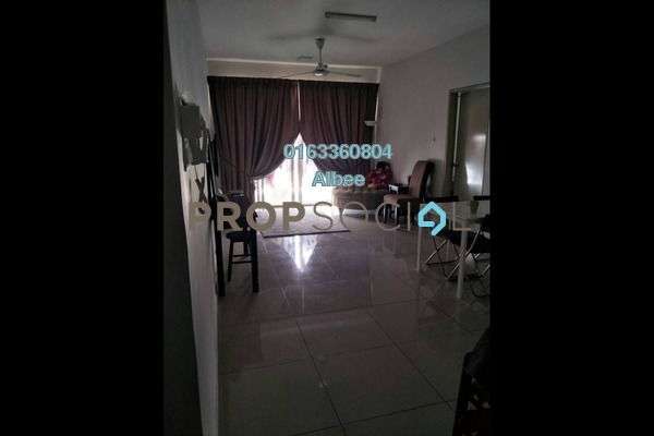 For Rent Condominium at Pacific Place, Ara Damansara Freehold Semi Furnished 4R/2B 1.8k