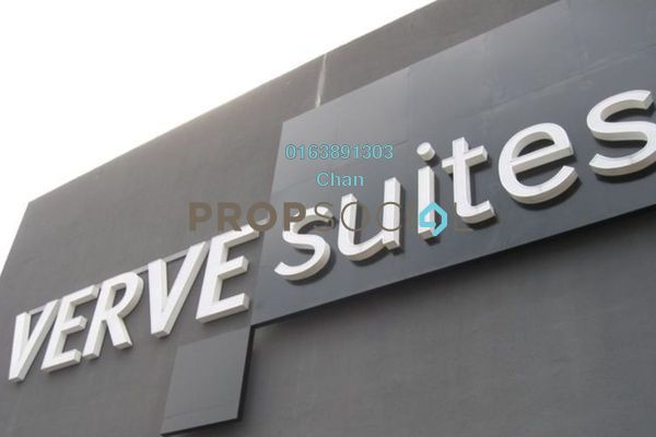For Rent Condominium at VERVE Suites, Mont Kiara Freehold Fully Furnished 2R/2B 3.6k