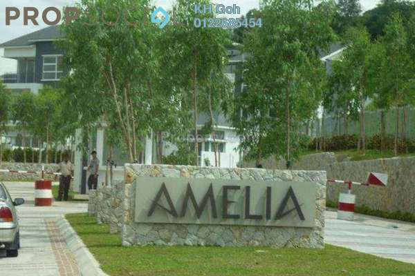 For Rent Superlink at Amelia, Desa ParkCity Freehold Semi Furnished 3R/4B 4.8k