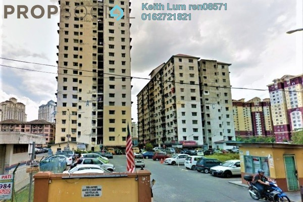 For Sale Apartment at Damai Apartment, Bandar Sunway Freehold Unfurnished 3R/1B 160k