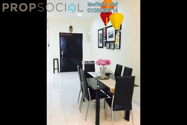 For Rent Condominium at Prima Setapak II, Setapak Freehold Fully Furnished 3R/2B 2k